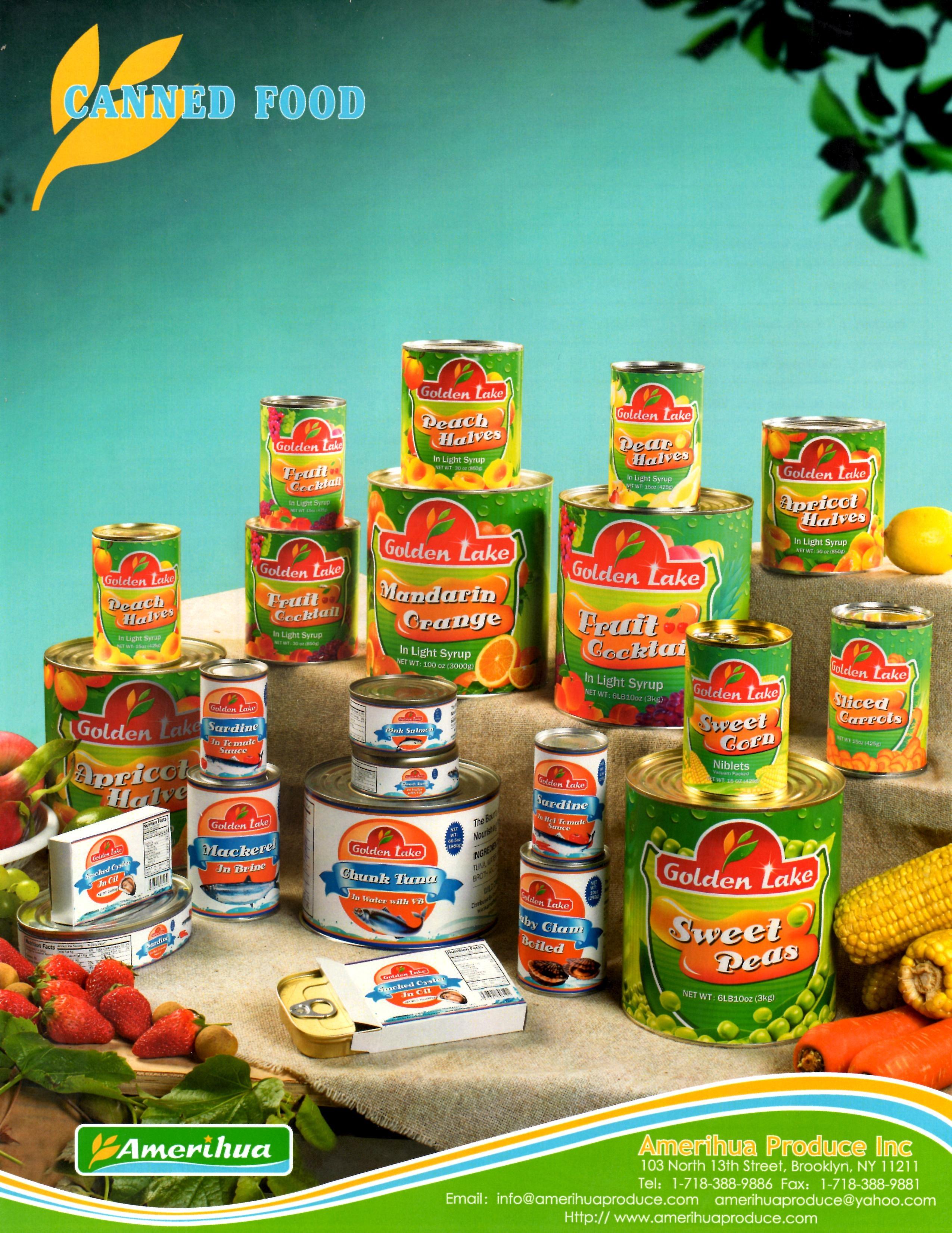 Amerihua canned