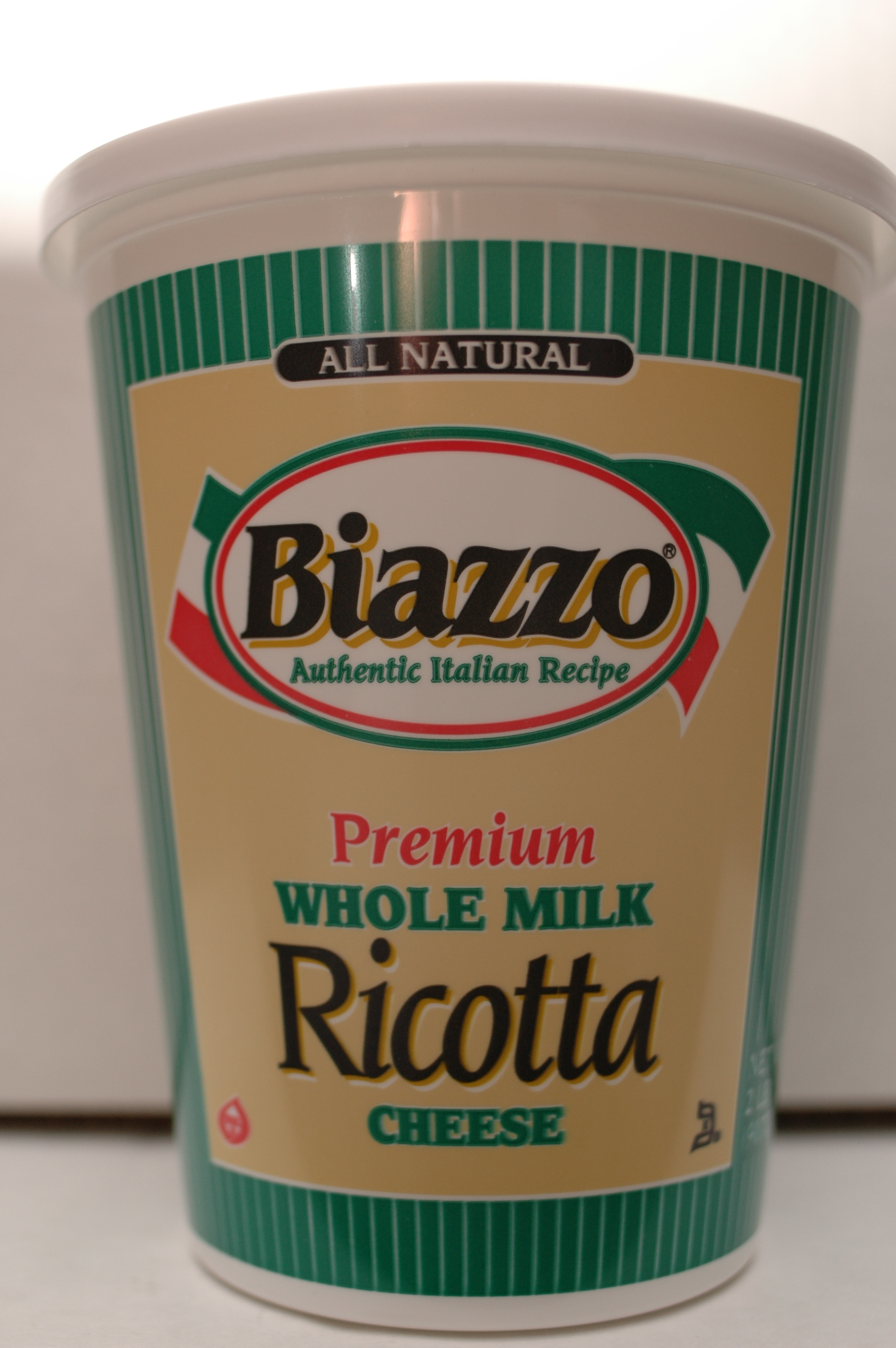 Biazzo  whole milk ricotta