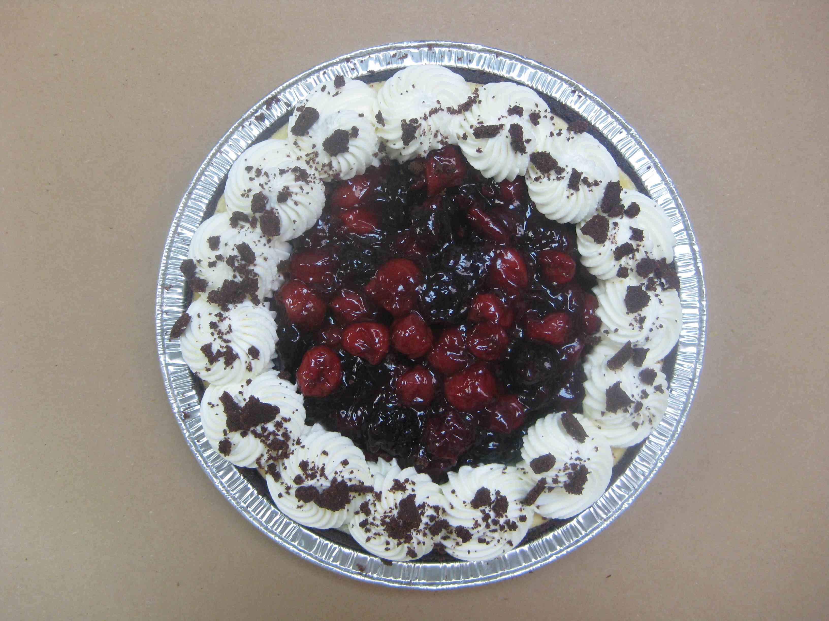 Bonerts open cherry pie