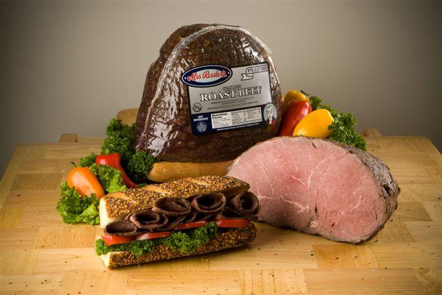 Ressler top round roast beef