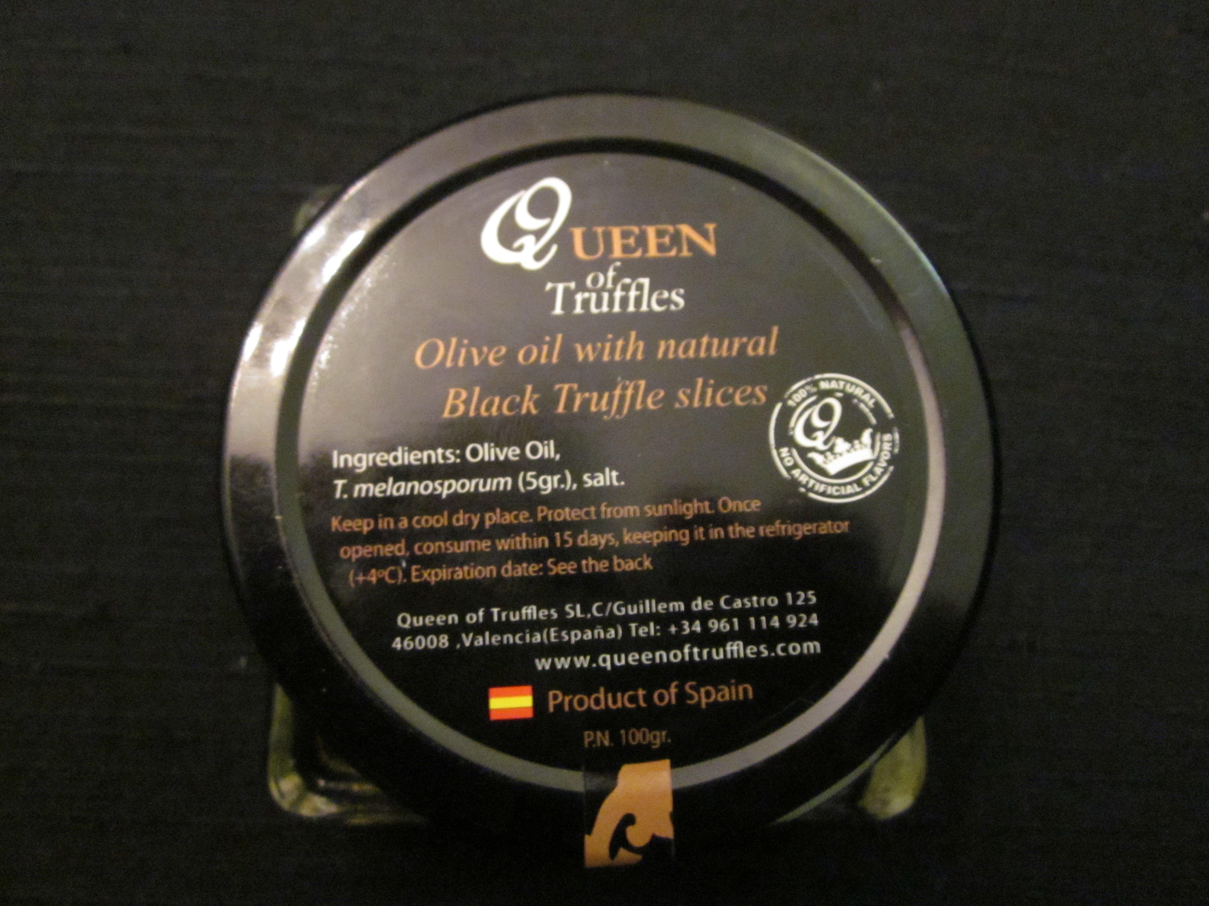 WBT black olive oil w truffles