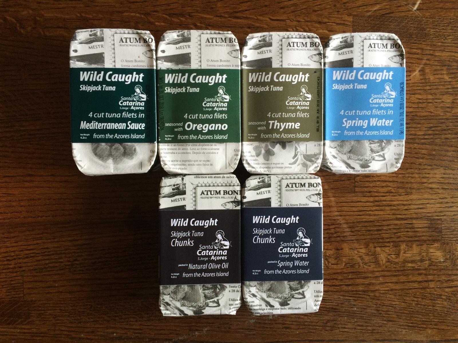 Harnett Tuna Flavors