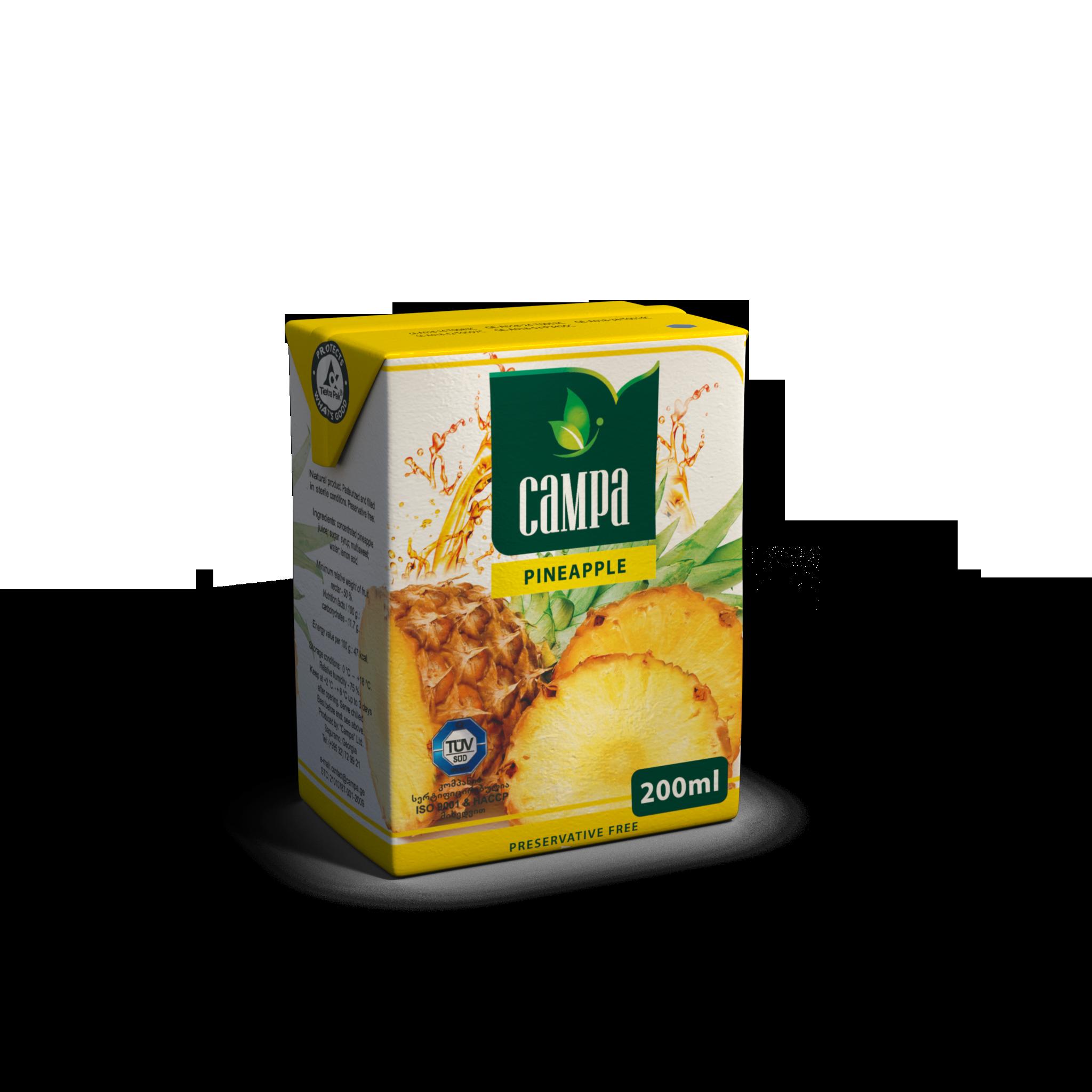 Pineapple juice Georgia Buadze