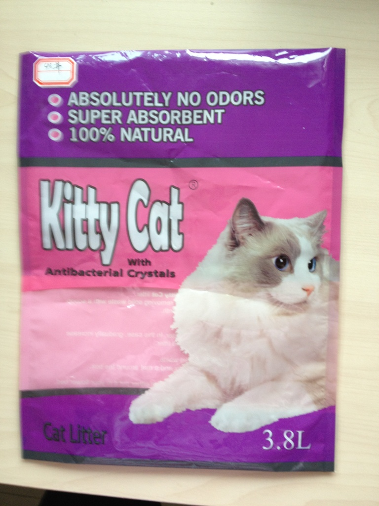 cat litter vg